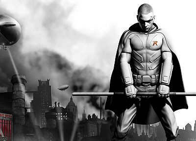 Batman, video games, artwork, Batman Arkham City - random desktop wallpaper