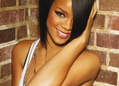 women, black people, Rihanna, celebrity, singers - random desktop wallpaper