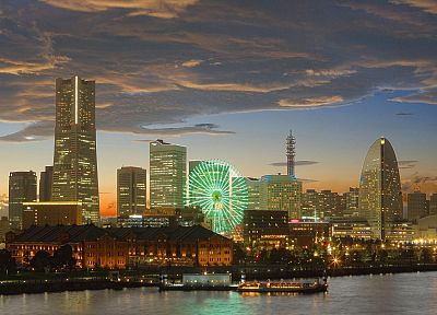 Japan, Yokohama, cities - related desktop wallpaper