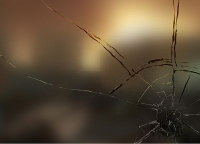 broken, glass, blur, gaussian blur - desktop wallpaper