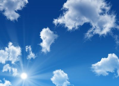 clouds, Sun, sunlight, skyscapes - related desktop wallpaper