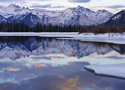 Canada, Alberta, lakes, Banff National Park, National Park - random desktop wallpaper