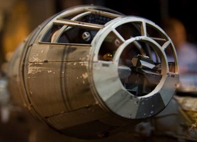 Star Wars, miniature, Millennium Falcon, toys, scale models - related desktop wallpaper