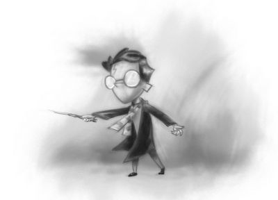 Harry Potter, drawings - random desktop wallpaper