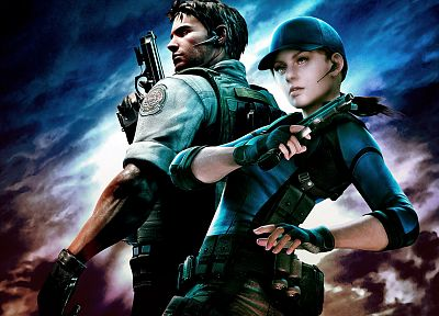 Resident Evil, Jill Valentine, Chris Redfield, BSAA (Bioterrorism Security Assessment Alliance) - random desktop wallpaper