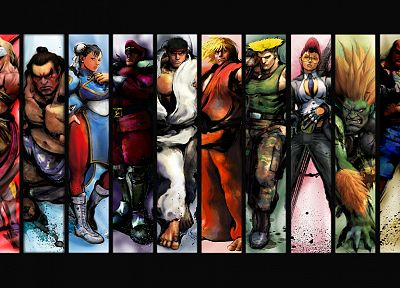 video games, Street Fighter - random desktop wallpaper