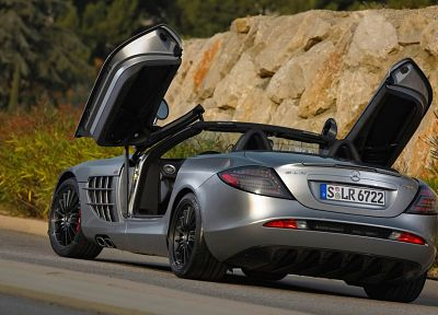 cars, Mercedes-Benz SLR McLaren 722 Edition - random desktop wallpaper