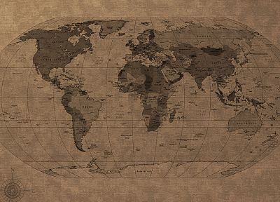 world map - duplicate desktop wallpaper