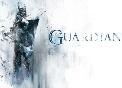 video games, Guild Wars, fantasy art - desktop wallpaper