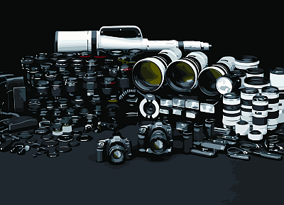 cameras - random desktop wallpaper