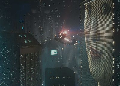 Blade Runner, science fiction, flying cars - random desktop wallpaper