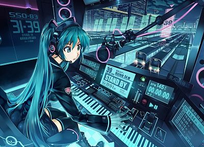 Vocaloid, Hatsune Miku, anime, Vania600 - random desktop wallpaper