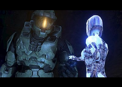 Cortana, Halo, Master Chief - related desktop wallpaper