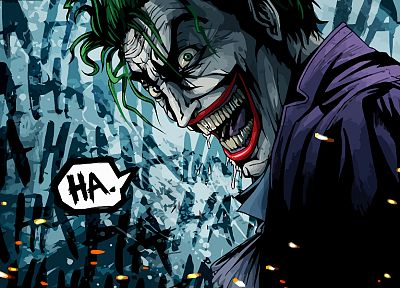 Batman, DC Comics, The Joker, drawings - random desktop wallpaper