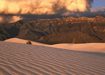 mountains, Texas, sand dunes, National Park - desktop wallpaper
