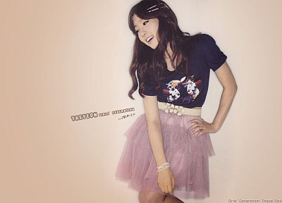 women, Girls Generation SNSD, celebrity, Kim Taeyeon - desktop wallpaper