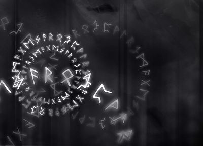 runes, futhark - random desktop wallpaper