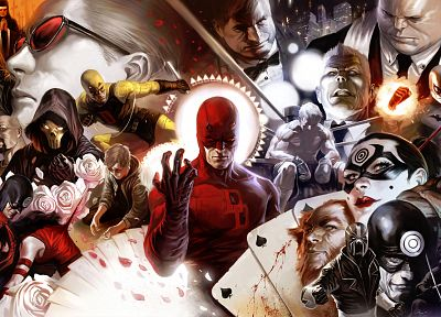 Daredevil, artwork, Marvel - related desktop wallpaper