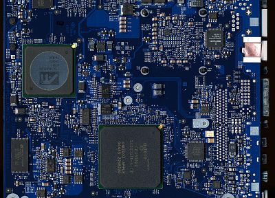 blue, computers, hardware, PC, motherboards, logic, CPU - related desktop wallpaper