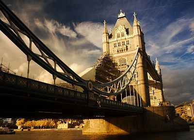 cityscapes, architecture, London, bridges, Tower Bridge - related desktop wallpaper