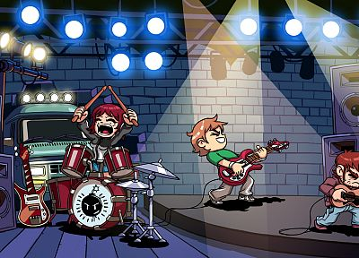 Scott Pilgrim - random desktop wallpaper