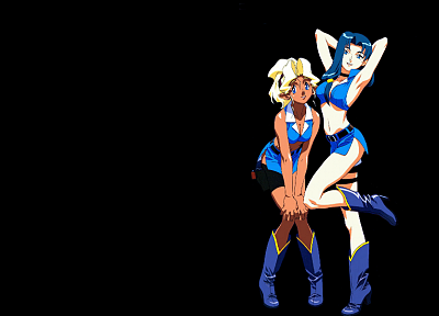 Tenchi Muyo, Kiyone Makibi, Mihoshi Kuramitsu, anime girls - random desktop wallpaper