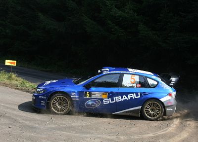 cars, rally, Subaru, Subaru Impreza WRC, Petter Solberg, rally cars, racing cars - random desktop wallpaper