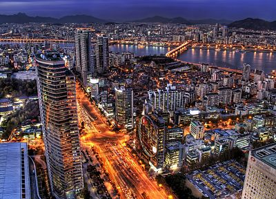 cityscapes, Korea, Seoul - random desktop wallpaper