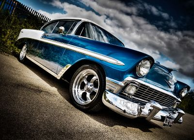 cars, Chevrolet, vehicles, HDR photography - random desktop wallpaper