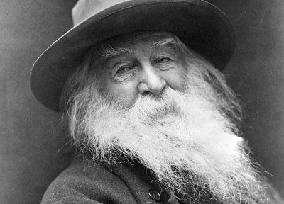 writers, poetry, Walt Whitman - random desktop wallpaper
