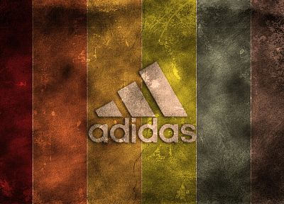 abstract, multicolor, Adidas, logos - desktop wallpaper