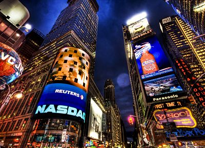 cityscapes, urban, buildings, New York City, Times Square, modern, cities - related desktop wallpaper