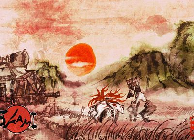 Okami - related desktop wallpaper