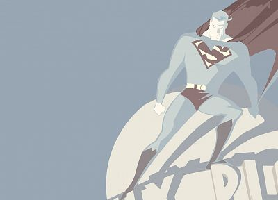 DC Comics, Superman, hero - random desktop wallpaper