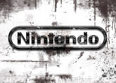 Nintendo, video games, logos, Brand - random desktop wallpaper