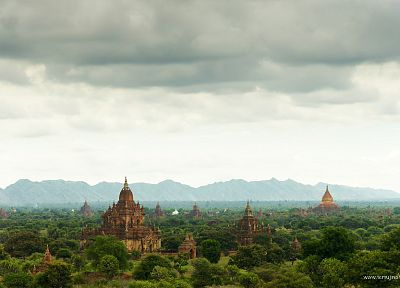 landscapes, Asia, ancient, travel, Asian architecture, Myanmar - related desktop wallpaper