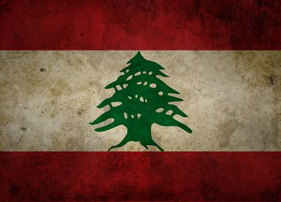 grunge, flags, Lebanon - random desktop wallpaper