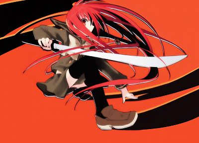 Shakugan no Shana, Shana - random desktop wallpaper