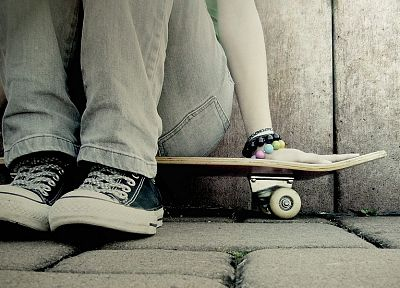 jeans, skateboards, Converse - related desktop wallpaper