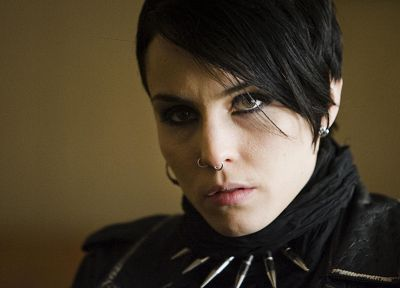 Noomi Rapace, Lisbeth Salander, movie stills, Millenium: The Girl With The Dragon Tattoo - desktop wallpaper