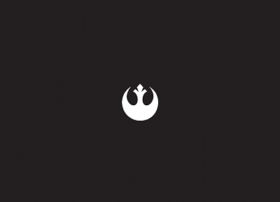 Star Wars, simple background - desktop wallpaper