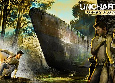 video games, Uncharted - related desktop wallpaper