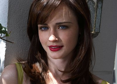 women, Alexis Bledel - random desktop wallpaper