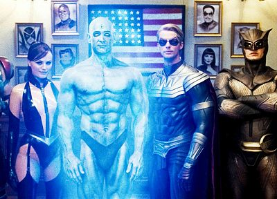 Watchmen, Rorschach, Silk Spectre, The Comedian, Nite Owl, Ozymandias, Dr. Manhattan - random desktop wallpaper