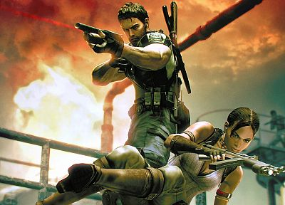 video games, Resident Evil, 3D, Sheva Alomar - random desktop wallpaper
