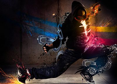dancing, breakdancing, b-boy - random desktop wallpaper