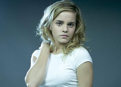 blondes, women, Emma Watson, Harry Potter, Hermione Granger - related desktop wallpaper