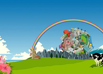 video games, Katamari, Katamari Damacy - random desktop wallpaper