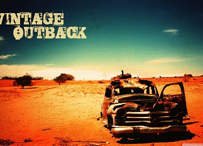 vintage, cars, deserts - related desktop wallpaper