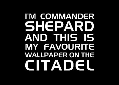 Mass Effect, Commander, citadel, Commander Shepard - random desktop wallpaper